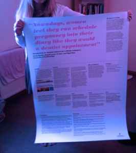 Standard poster size for conferences