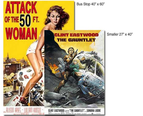Movie Poster Size - Standard Paper, Poster Sizes And Dimensions